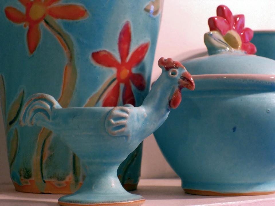 Keramik Rademacher Gebrauchskeramik Eierbecher